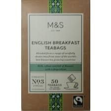 Marks and Spencer English Breakfast 50 Teabags
