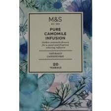 Marks and Spencer Pure Camomile Infusion 20 Teabags