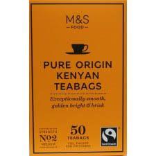 Marks and Spencer Pure Origin Kenyan Tea 50 Teabags