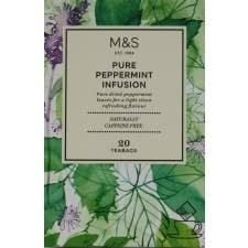 Marks and Spencer Pure Peppermint Infusion 20 Teabags