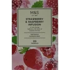 Marks and Spencer Strawberry and Raspberry 20 Teabags