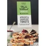 Marks and Spencer Made Without Wheat Apricot & Cashew Nut Toasts 125g