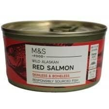 Marks and Spencer Wild Alaskan Red Salmon - Skinless and Boneless 170g