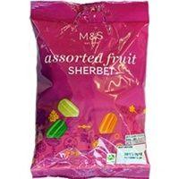 Marks and Spencer Assorted Fruit Sherbets 225g