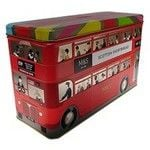 Marks and Spencer Scottish Shortbread Selection Bus Tin 500g