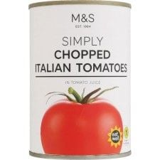 Marks And Spencer Chopped Tomatoes 400g