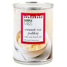 Marks and Spencer Creamed Rice Pudding 400g
