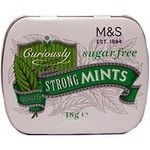 Marks and Spencer Curiously Strong Sugar Free Mints 18g Tin