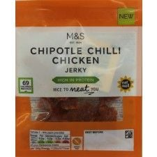 Marks And Spencer Eat Well Chipotle Chilli Chicken Jerky 25g