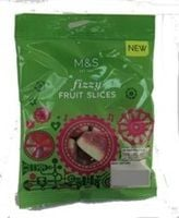 Marks and Spencer Fizzy Fruit Slices 70g