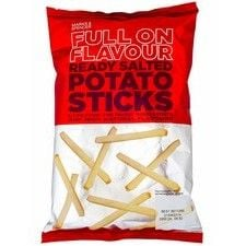 Marks And Spencer Full On Flavour Ready Salted Potato Sticks 150g