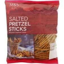 Marks And Spencer Lightly Salted Pretzel Sticks 150g