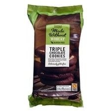 Marks and Spencer Made Without Wheat Triple Chocolate Cookies 170g