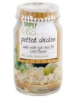 Marks and Spencer Potted Chicken Paste 75g