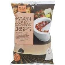 Marks And Spencer Prawn Cocktail Hand Cooked Crisps 150g