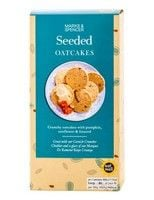 Marks and Spencer Seeded Oatcakes 200g