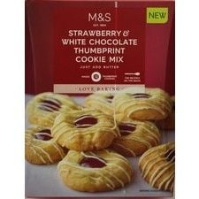 Marks And Spencer Strawberry And White Chocolate Cookie Mix 330g