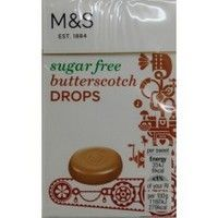 Marks and Spencer Sugar Free Butterscotch Drops 42g
