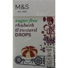 Marks and Spencer Sugar Free Rhubarb and Custard Drops 42g