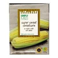 Marks and Spencer Sweetcorn 380g