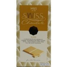 Marks And Spencer Swiss Blond White Chocolate 100g
