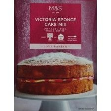 Marks and Spencer Made Without Wheat Victoria Sponge Cake Mix 470g