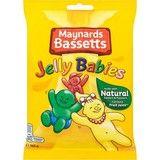 Bulk Buy 12 x 165g Maynards Bassett's Jelly Babies