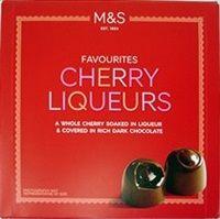 Marks and Spencer Cherry Liqueurs 225g