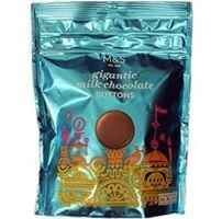Marks and Spencer Gigantic Milk Chocolate Buttons 170g