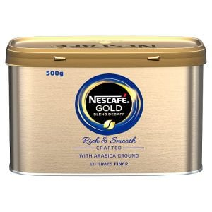 Catering Size Nescafe Gold Blend Decaff 500g