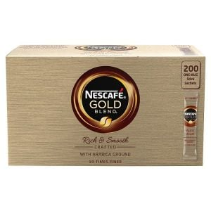 Catering Size Nescafe Gold Blend Instant Coffee 200 Sachets
