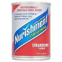Nurishment Original Strawberry Milkshake 400g