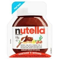 Bulk Buy Nutella Hazelnut Spread with Cocoa Individual 120 x 15g