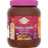 Catering Size Pataks Original Madras Kebab Curry Paste 2.4kg