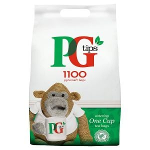 Catering Size PG Tips 1100 One Cup Pyramid Tea Bags 2.3kg