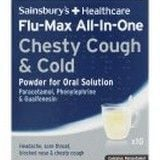 Sainsburys All In One Chesty Cough & Cold Sachets 10