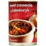 Sainsbury's Beef Casserole 400g
