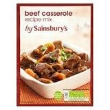 Sainsbury's Beef Casserole Mix 40g