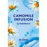 Sainsbury's Camomile Infusion Tea x 20