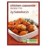 Sainsbury's Chicken Casserole Mix 40g