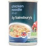 Sainsbury's Chicken Noodle Soup 400g