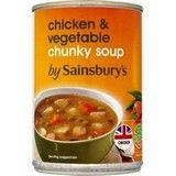 Sainsbury's Chunky Chicken and Vegetable Soup 400g