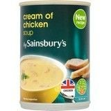 Sainsbury's Cream of Chicken Soup 400g
