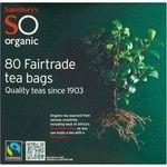 Sainsbury's SO Organic Tea Bags 80