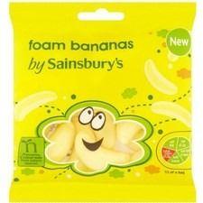 Sainsbury's Foam Bananas 75g