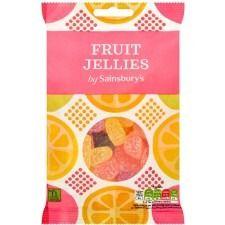 Sainsbury's Fruit Jellies 250g