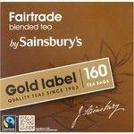 Sainsbury's Gold Label Tea Bags 160