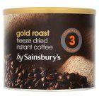 Sainsbury's Gold Roast Instant Coffee 500g