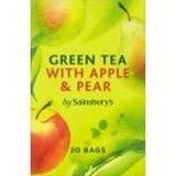 Sainsbury's Green Tea with Apple and Pear x 20