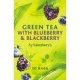 Sainsbury's Green Tea with Blueberry and Blackberry x 20
